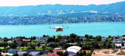 Drones: Swiss Post to regularly transport lab samples across the Zurich lake basin in future