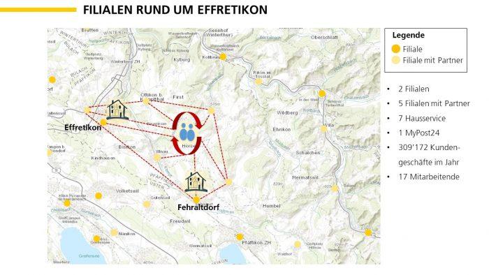 Beispiel einer neuen Team-Organisation in der Region Zürich.