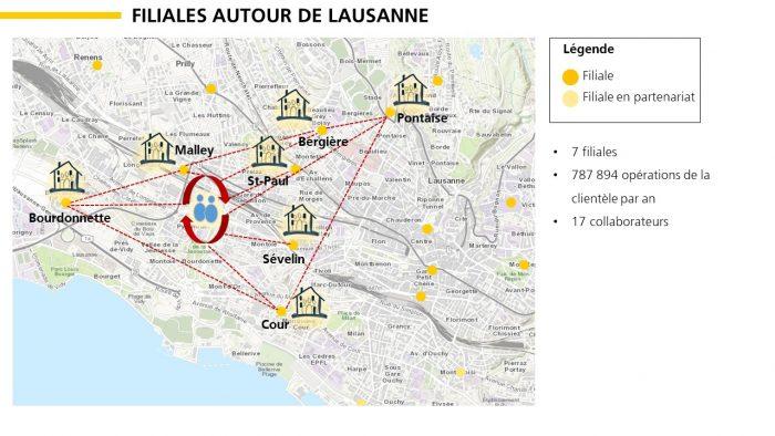 Exemple d'une nouvelle organisation par équipe dans la région de Lausanne.