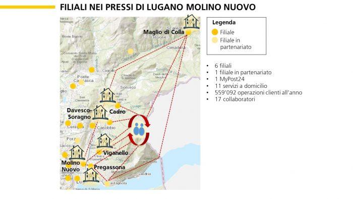 Esempio di una nuova organizzazione in team nei pressi di Lugano.