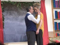 In ihrem Element: Manuela Lüscher-Burri auf der Bühne