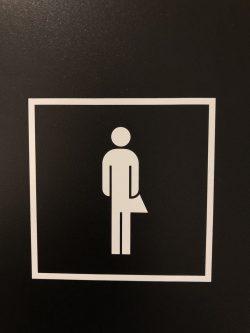 Neu befinden sich an den Büro-Standorten der Post in Bern und Zollikofen Unisex-Toiletten.