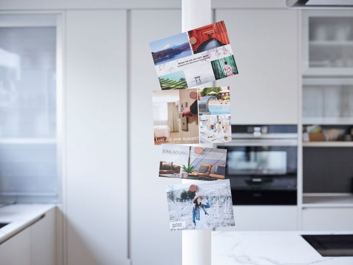 Happy Birthday: la PostCard Creator App festeggia il suo quinto compleanno. | Immagini: La Posta Svizzera