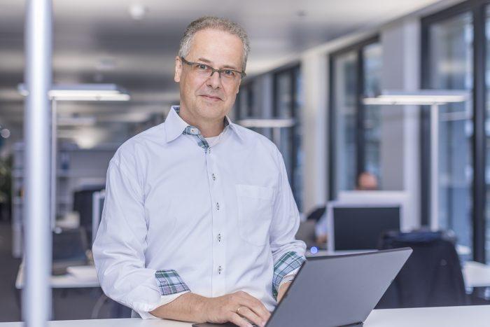 Wolfgang Eger, IT-Chef der Schweizerischen Post