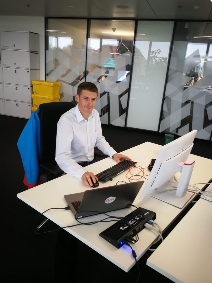 Markus Steinmann, Spezialist Tourenplanungssystem (TPS)