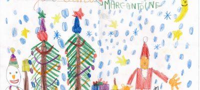 C'est ici que sont entreposées les lettres d'enfants les plus belles, les plus amusantes et les plus touchantes