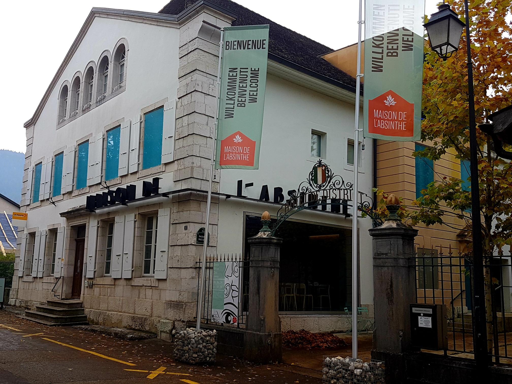 La filiale in partenariato di Môtiers ha aperto i battenti nel luglio del 2014 nella Casa dell'assenzio.