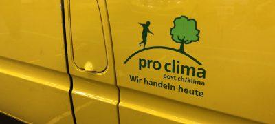 Aus GELB mach GRÜN – die Post liefert in Zürich auch CO2-neutral