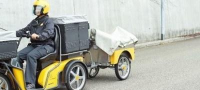 Con il loro look in stile Harley, gli «scooter per anziani» sono diventati alla Posta i re della strada