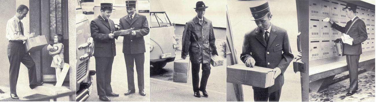 «Es ist bei warmer Witterung gestattet, den Dienst in Hose und Uniformhemd zu besorgen; die Hose ist, sofern nicht besondere Gründe dagegensprechen, ohne Hosenträger zu tragen» (Broschüre PTT-Dienstkleidervorschrift 1968).