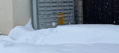 Pöstler im Engadin trotzen den Schneemassen