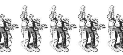 """Wenn der """"Iron Man"""" statt der Pöstler zweimal klingelt..."""